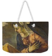 Virgin From The Annunciation To The Virgin Weekender Tote Bag