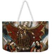 Virgin Of Carmel Saving Souls In Purgatory Weekender Tote Bag