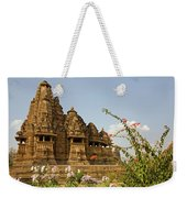 Vishvanatha Temple In Khajuraho Weekender Tote Bag