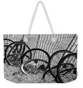 Waiting For A Ride Weekender Tote Bag