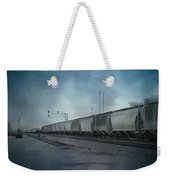 Waiting For A Train Weekender Tote Bag