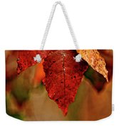 Waiting For Fall Weekender Tote Bag