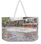Wakefield City Centre Fountain Weekender Tote Bag