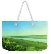 Walking The Beach Weekender Tote Bag