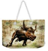 Wall Street Bull Vii Weekender Tote Bag