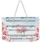 Waltz Of The Flowers Pink Roses Weekender Tote Bag