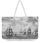 War Of 1812: Sea Battle Weekender Tote Bag