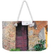 Washing Day Tuscany Weekender Tote Bag