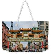 Washington D.c. Chinatown Weekender Tote Bag