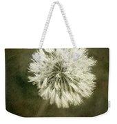 Water Drops On Dandelion Flower Weekender Tote Bag