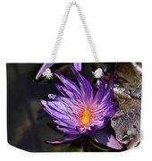 Water Floral Weekender Tote Bag