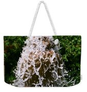 Water Fountain  Weekender Tote Bag
