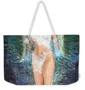 Water Girl Weekender Tote Bag