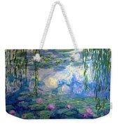 Water Lilies, Nympheas, By Claude Monet,  Musee Marmottan Monet, Weekender Tote Bag