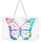 Watercolor Butterfly Weekender Tote Bag