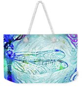 Watercolor Wings Weekender Tote Bag