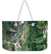 Waterfall Highlands Of Guatemala 1 Weekender Tote Bag