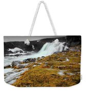 Waterfalls Of Iceland Weekender Tote Bag