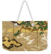 Waves At Matsushima Weekender Tote Bag