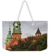 Wawel Royal Castle In Krakow Weekender Tote Bag