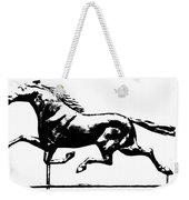 Weathervane, 19th Century Weekender Tote Bag