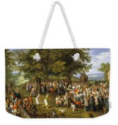Wedding Banquet Presided Over By The Archduke And Infanta Weekender Tote Bag