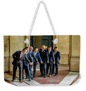 Wedding Men Weekender Tote Bag