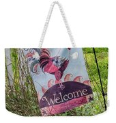 Welcome To My Garden Weekender Tote Bag