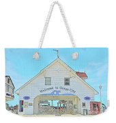 Welcome To Ocean City Weekender Tote Bag