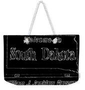Welcome To South Dakota  Weekender Tote Bag