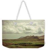 Western Storm Weekender Tote Bag