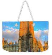 Westminster Bridge And Taxi Weekender Tote Bag