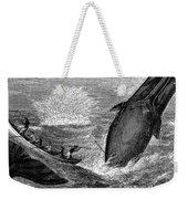 Whaling, 19th Century Weekender Tote Bag by Granger