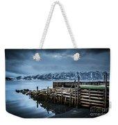 Wharf In Norris Point, Newfoundland Weekender Tote Bag