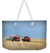 Wheat Harvest 2016 Weekender Tote Bag
