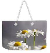 White Daisies Weekender Tote Bag