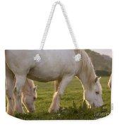 White Horses Weekender Tote Bag