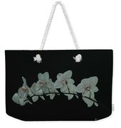 White Orchids No.2 Weekender Tote Bag