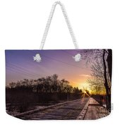 White River Sparkle Weekender Tote Bag