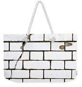 White Tiles Weekender Tote Bag