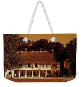 Whitney Plantation In Wallace Louisiana Weekender Tote Bag