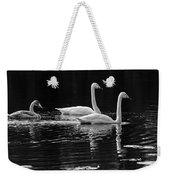 Whooper Swan Family Weekender Tote Bag