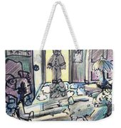 Who's There? Weekender Tote Bag