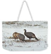 Wild Turkey - Meleagris Gallopavo Weekender Tote Bag