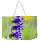 Wildflowers And Pikes Peak In The Pike National Forest Weekender Tote Bag