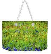 Wildflowers In Bloom Weekender Tote Bag