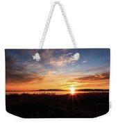 Willard Bay Sunset Weekender Tote Bag