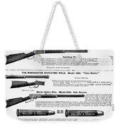 Winchester Rifles Weekender Tote Bag