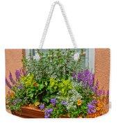 Window Box Blooms Weekender Tote Bag