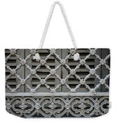 Window Grill In Toulouse Weekender Tote Bag